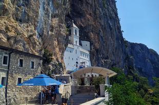Ostrog- kolostor  #Montenegró