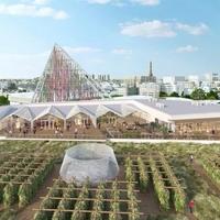 A világ legnagyobb városi tetőkertje készül Párizsban