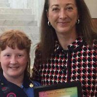 Egy kislány oktatta ki a politikusokat