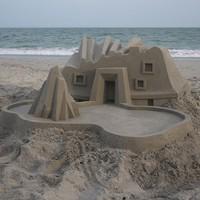 Lélegzetelállító homokvárak