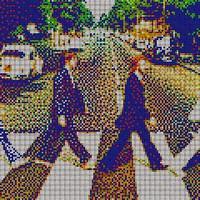 Menő képek Rubik-kockából!