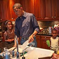 Barack Obama a kulisszák mögött