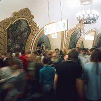 A moszkvai metró hétköznapjai