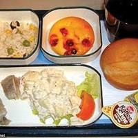 Mit etetnek velünk a repülőgépen?
