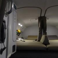 A pilóták titkos alvóhelyei