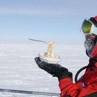 Így lehet főzni az Antarktiszon