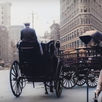 Nézd meg színesben, 4K-ban az 1911-es New Yorkot!
