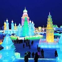 Káprázatos képek a jég- és hóvárosból