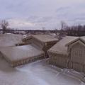 A jéggé dermedt város