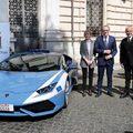 Lamborghinivel mentett életet az olasz rendőrség
