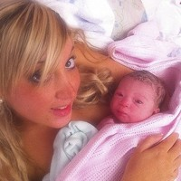 A szülés utáni első képek