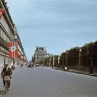Náci propagandaképek Párizsról