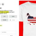 Már árulják a Grönlandot az USA részeként ábrázoló pólókat