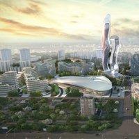Valósággá váló sci-fi városok