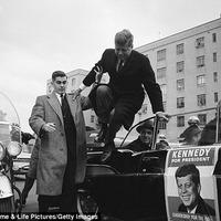 A Kennedy-kampány ritka képei
