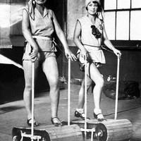 Így edzettek száz éve