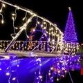 Éneklő karácsonyfa és sziklamászó télapó
