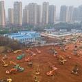Hat nap (!) alatt építenek kórházat Kínában
