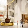 A világ legnagyobb csokiszökőkútja