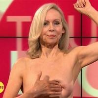 Mit keres félmeztelen nő reggel a tévében?