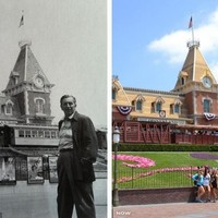 Disneyland 60 éve és ma