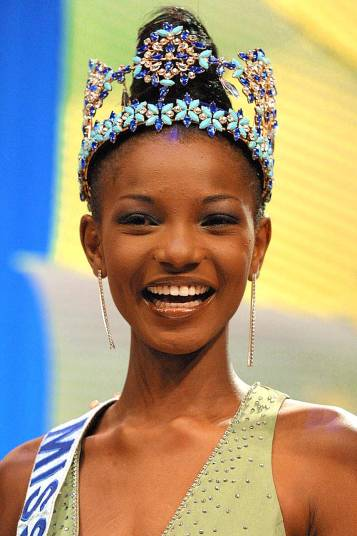 2001 After fifty years of contests, Agbani Darego of Nigeria became the first ever black African winner of the comepetition.jpg