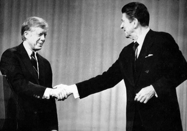 Ronald Reagan - Jimmy Carter.jpg