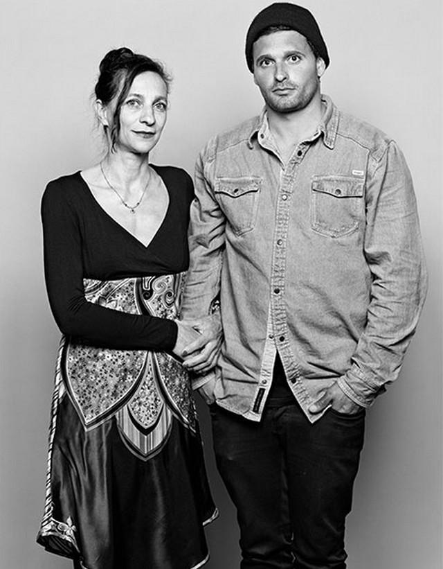 Bianca egy új párral, Carlóval, 2014
