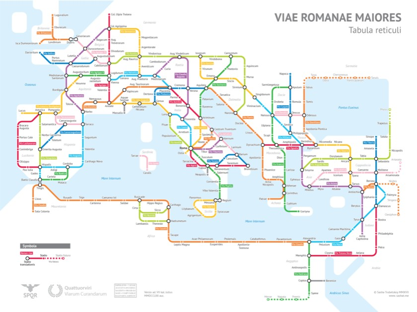 Az Okori Roma Metroterkepen Kivul Tagasabb