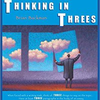 ''NEW'' Thinking In Threes: The Power Of Three In Writing. other Armenia hoteles Clase ultima