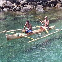 Hajón Indonéziában