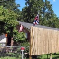 Konföderációs zászló a fekete gettóban