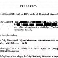 Toroczkai, a gyilkosvédő, 3. rész.