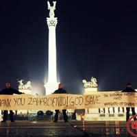 Donyecki elnök: Magyarokkal nem harcolunk