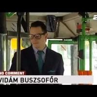 Mégse rúgta ki a BKV a viccmesélő buszsofőrt