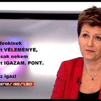 Kálmán Olga fideszes férjét kirúgták az M1-től