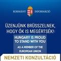 Az EU mellett kampányol a Fidesz külföldön
