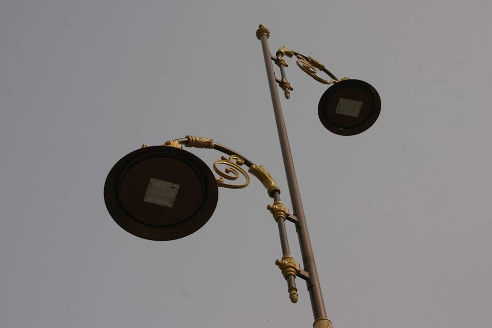 tradicionális dizájnú utca LED lámpa Fez-ben