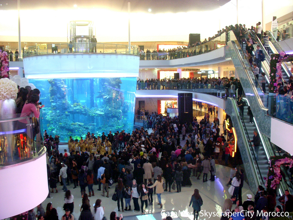 Casablanca shopping mall