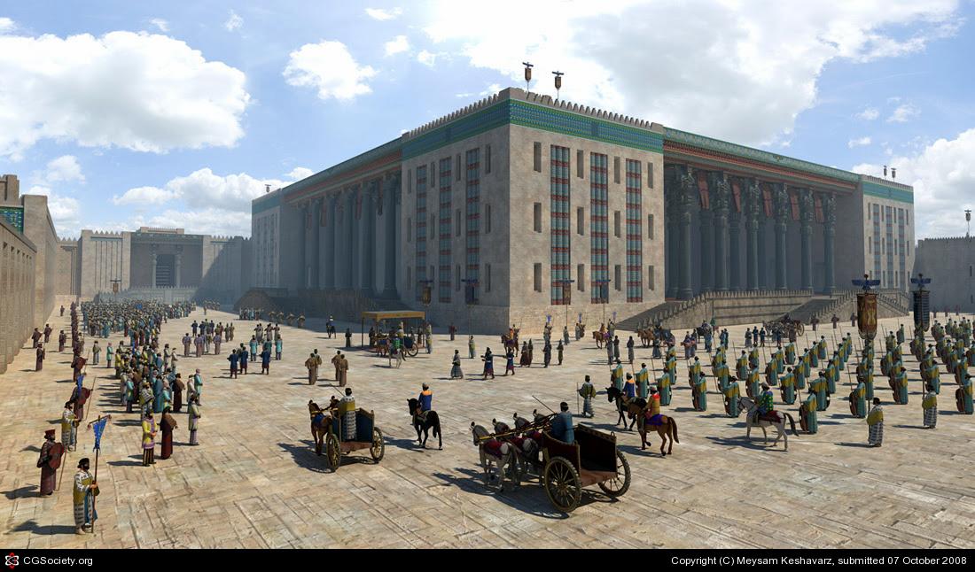 Persepolis ilyen lehetett hőskorában, 3D modell