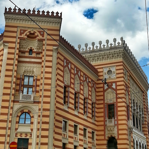 Szarajevó mór stílusú városháza