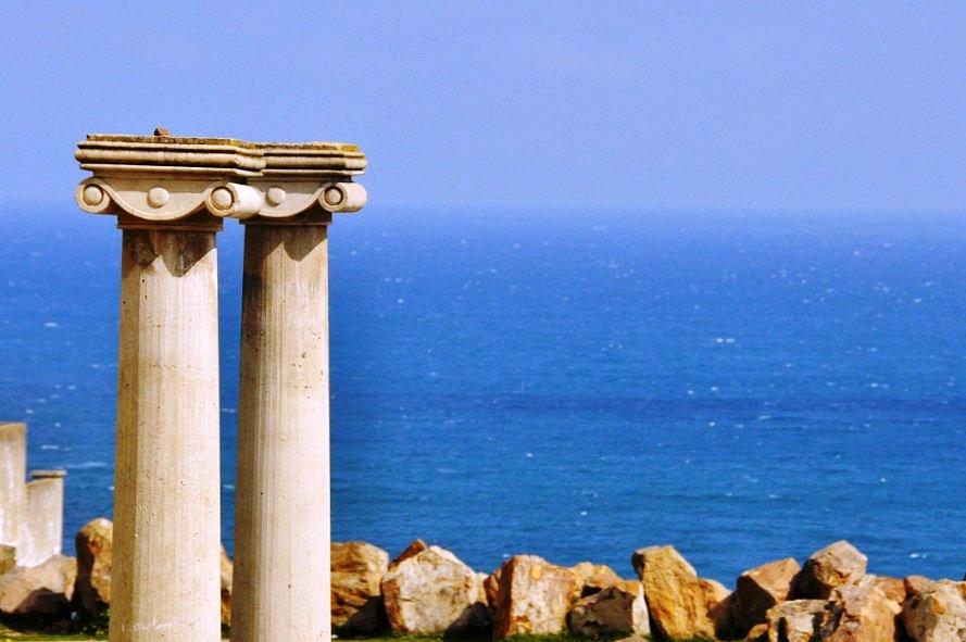 Tanger római kori emléke - a római korszakban Tingitana volt a neve és a tartományt róla nevezték el Mauretania Tingitana-nak
