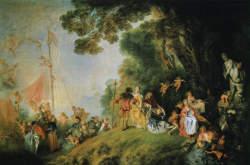 Antoine Watteau: Indulás Kithéra szigetére