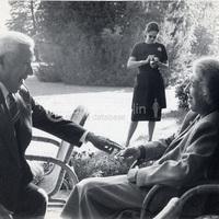 Clara Haskil és Charlie Chaplin