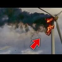 A legdurvább szélerőmű-balesetek