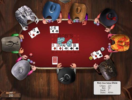 Armor games governor poker