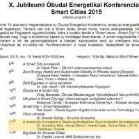 Erre van előre a X. Óbudai Energetikai Konferencián