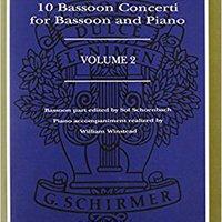 TOP Antonio Vivaldi: 10 Bassoon Concerti For Bassoon And Piano, Volume 2. negocio Toyota superado Codigo local Entre lechones