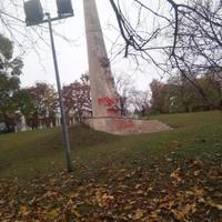 Budapesten az oroszok felszentelték k az 1956-os forradalom áldozatainak emlékműjét