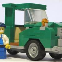 Zöld furgon